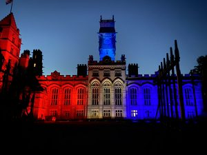 VE Day illuminations